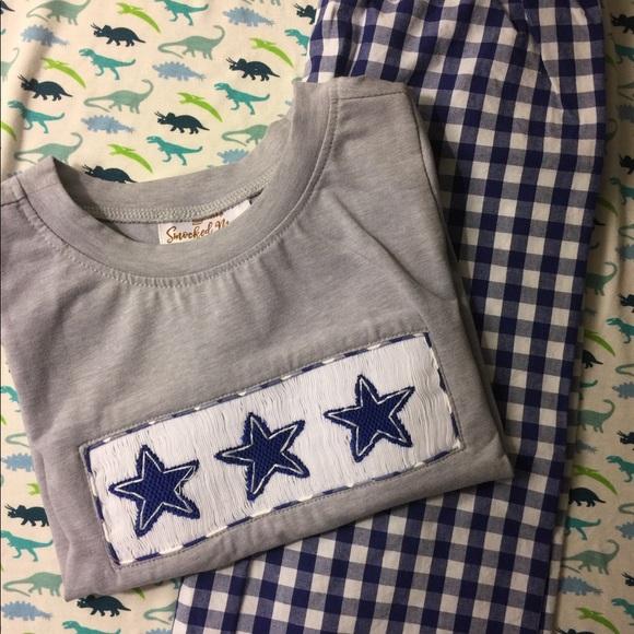 c9b3161294c6c Other | Smocked Mama Boys Dallas Cowboys Smocked Set | Poshmark